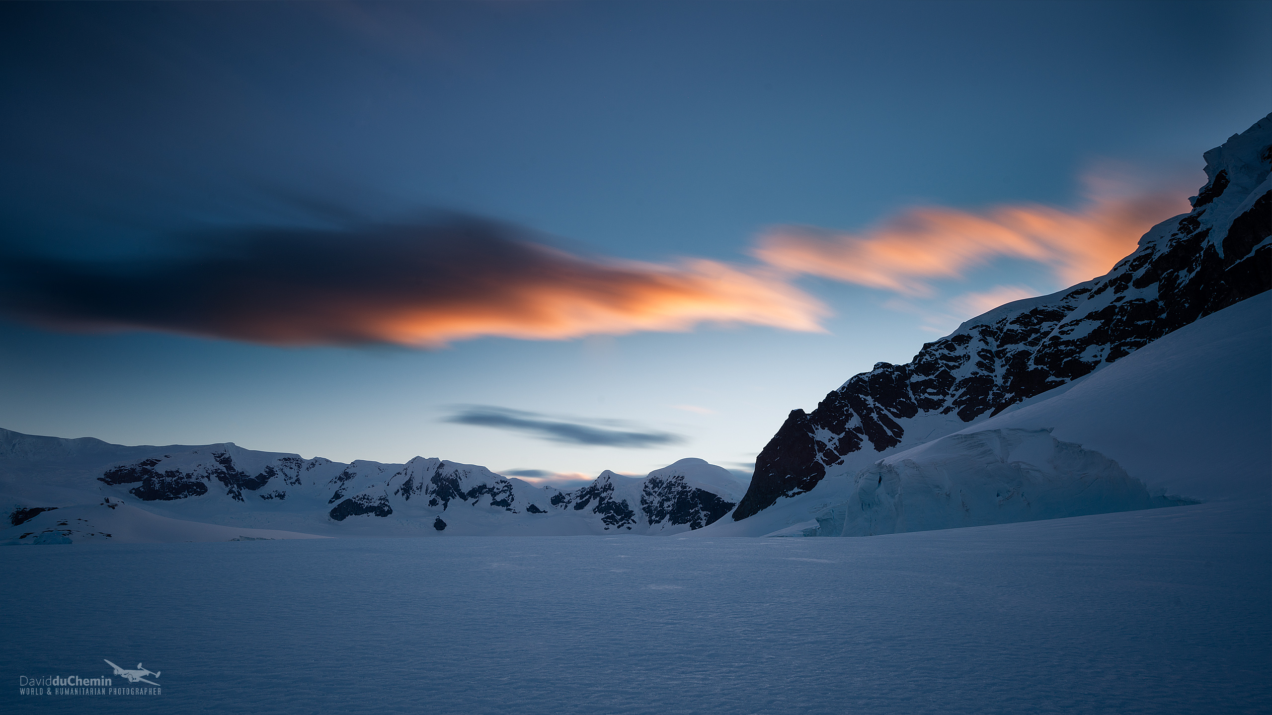 antarctica and clouds wallpaper - photo #42