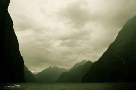 January 2011 Desktop Wallpaper - Milford Sound, New Zealand